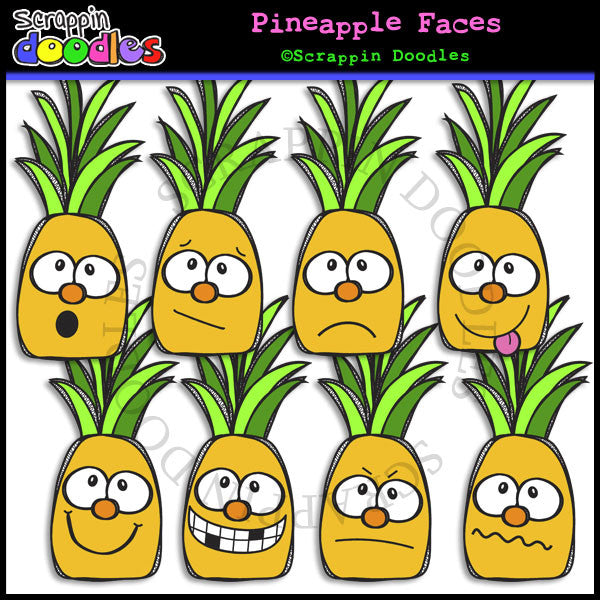 Pineapple Faces
