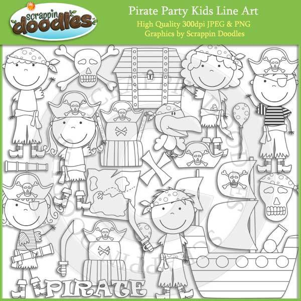Pirate Party Kids