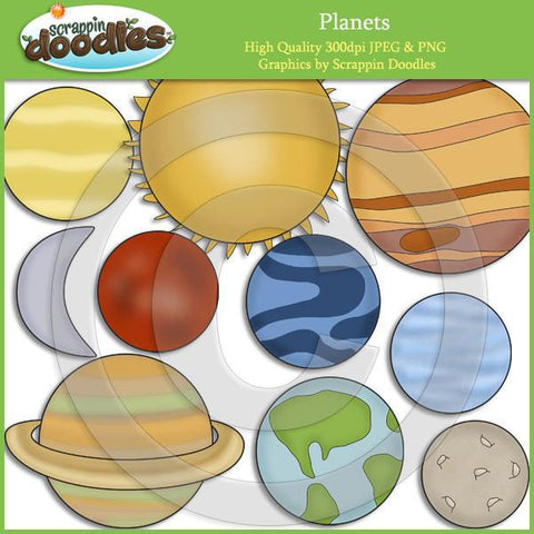 Planets Clip Art Download