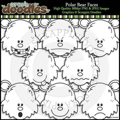 Polar Bear Faces