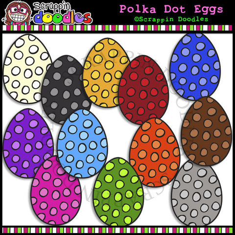 Polka Dot Egg Colors