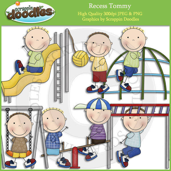 Recess Tommy Clip Art Download
