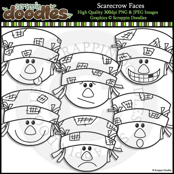 Scarecrow Faces
