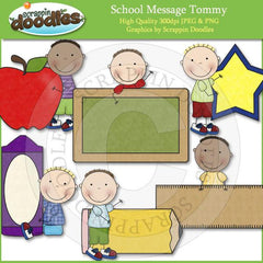 School Message Susie & Tommy