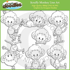 Scruffy Monkey