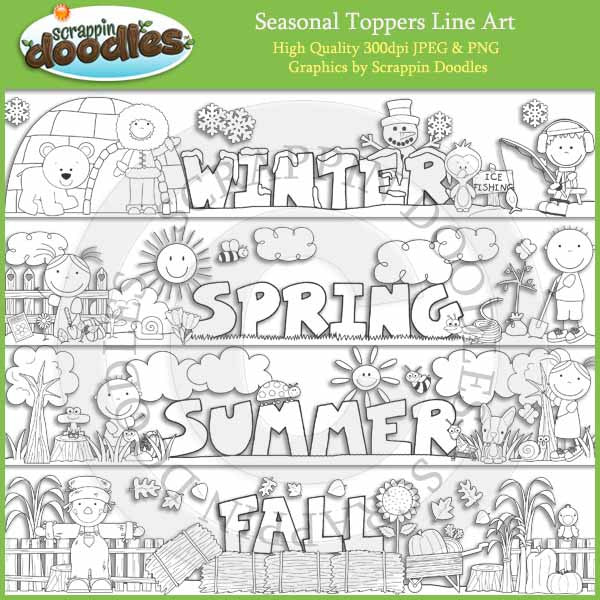 Seasonal Toppers