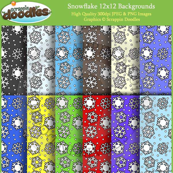 Sowflake 12x12 Backgrounds Download