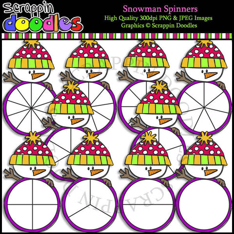 Snowman Spinners