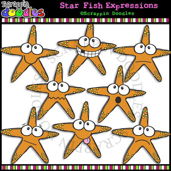 Star Fish Faces