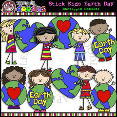Stick Kids Earth Day