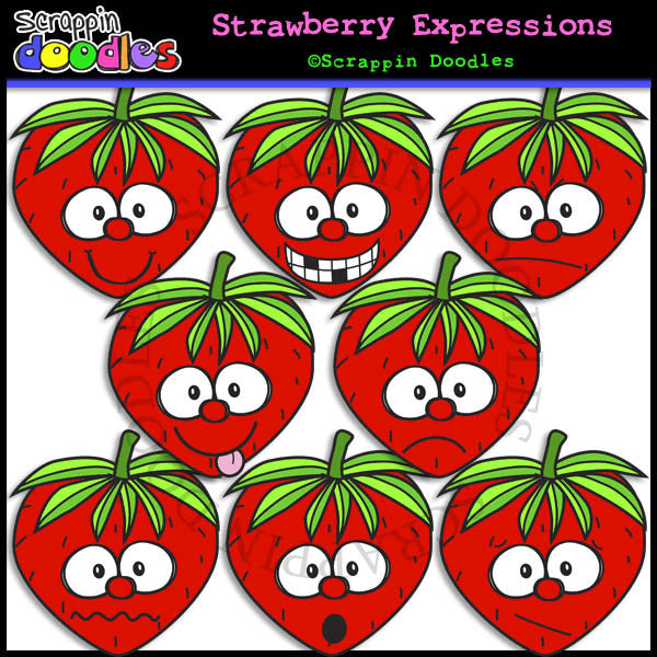 Strawberry Faces