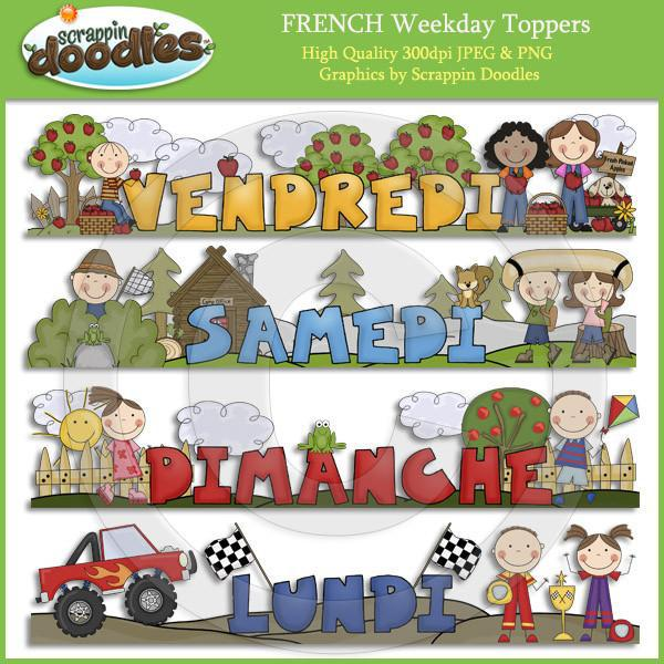 FRENCH Weekday Toppers Download