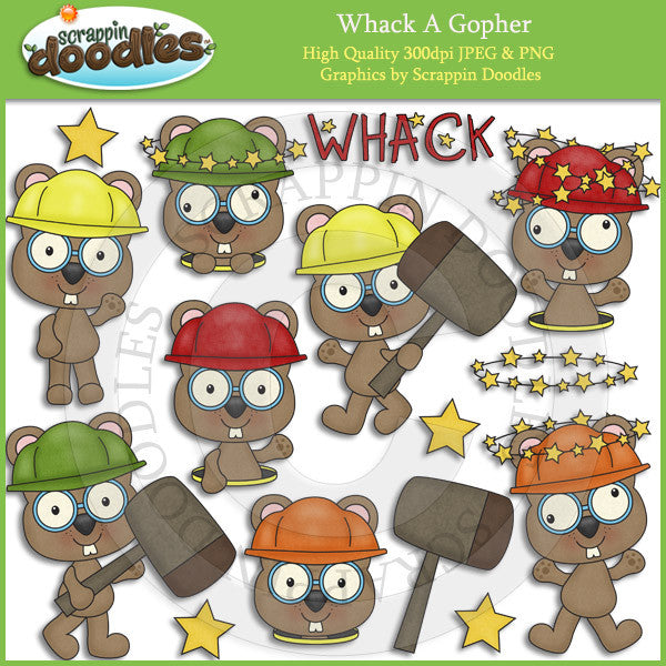 Whack A Gopher Clip Art Download