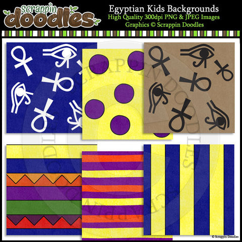 Egyptian Kids Backgrounds