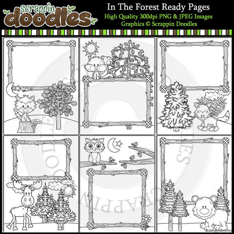 In The Forest Ready Pages