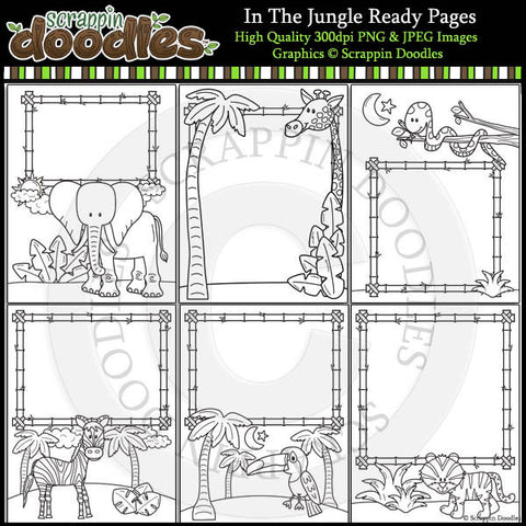 In The Jungle Ready Pages