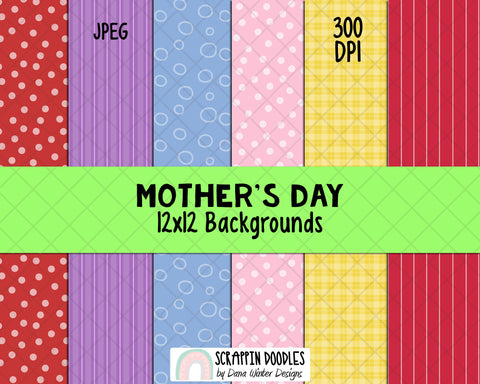 Mothers Day Clipart - Mom Clipart - Mum Clipart - Mothers Day Sublimation Designs - Mothers Day Gifts