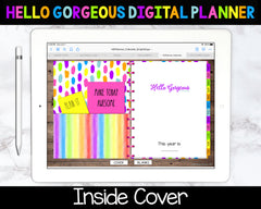Bright Days Digital Planner - Calendar & Blanks - Undated Instant Download