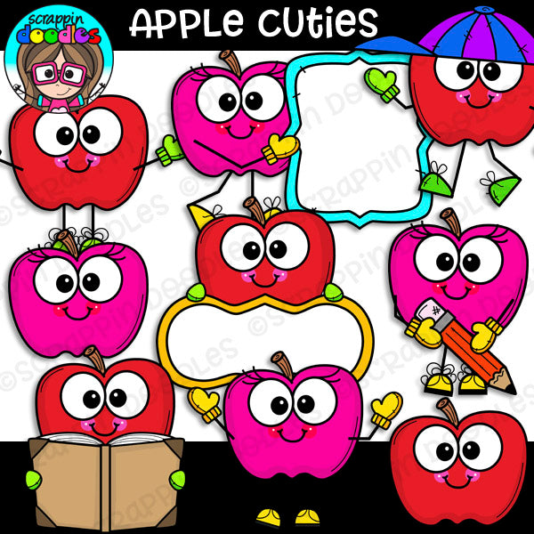 Apple Cuties Clip Art