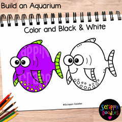 Build an Aquarium Clip Art tropical fish