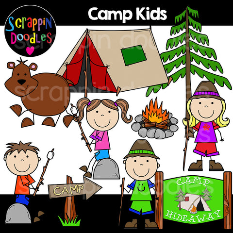 Camp Kids Clip Ar camping tent