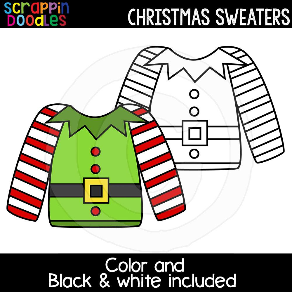Christmas Sweaters Clip Art Ugly