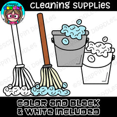 Cleaning Supplies Clipart