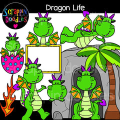 Dragon Life Clip Art Dragons Habitat