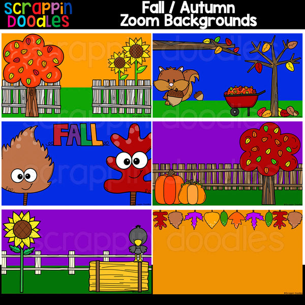 Autumn Zoom Backgrounds