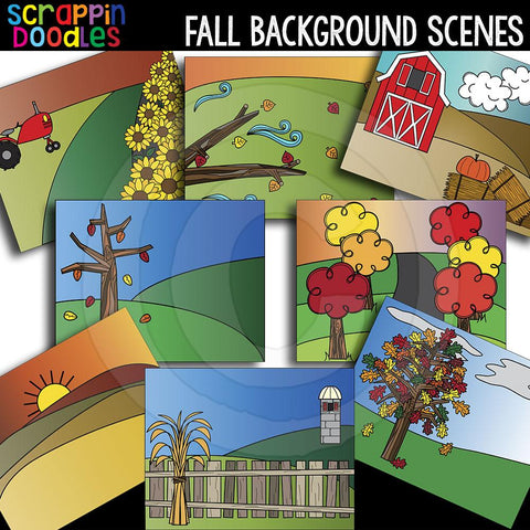 Fall Background Scenes Autumn
