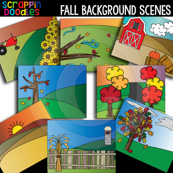Fall Autumn Background Scenes