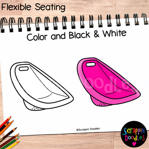 Flexible Seating Clip Art