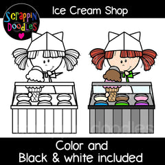 Ice Cream Shop Clip Art soft ice ceam stand
