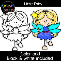 Little Fairy Clip Art Fairies