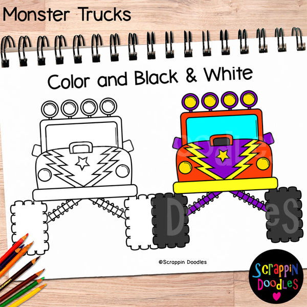 Monster Truck Clip Art