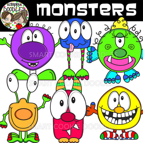 Scrappin doodles clip art for Monster advanced search