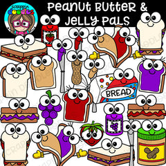 Peanut Butter & Jelly Pals Clipart