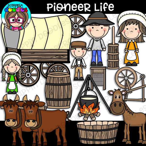 Pioneer Life Clipart