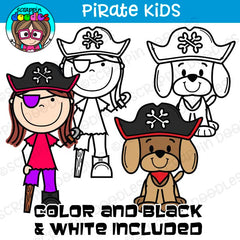 Pirate Kids Clipart