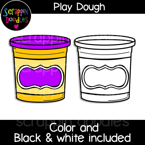 Play Dough Clip Art doh clay