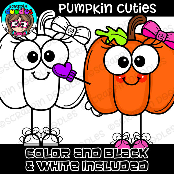 Pumpkin Cuties Clipart