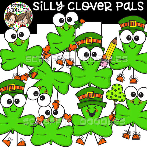 Silly Clover Pals