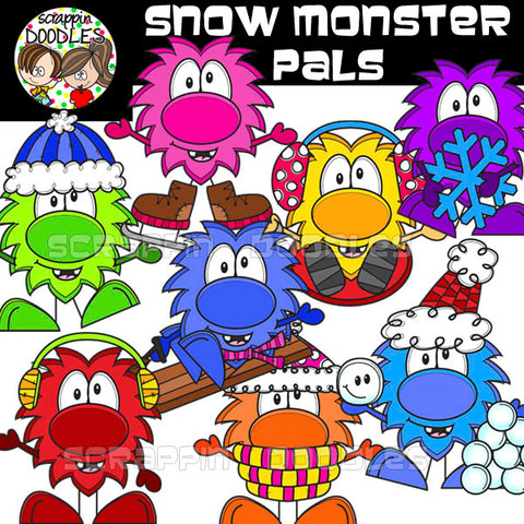 Snow Monster Pals