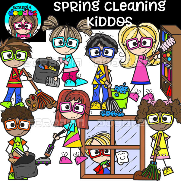 Spring Cleaning Kiddos