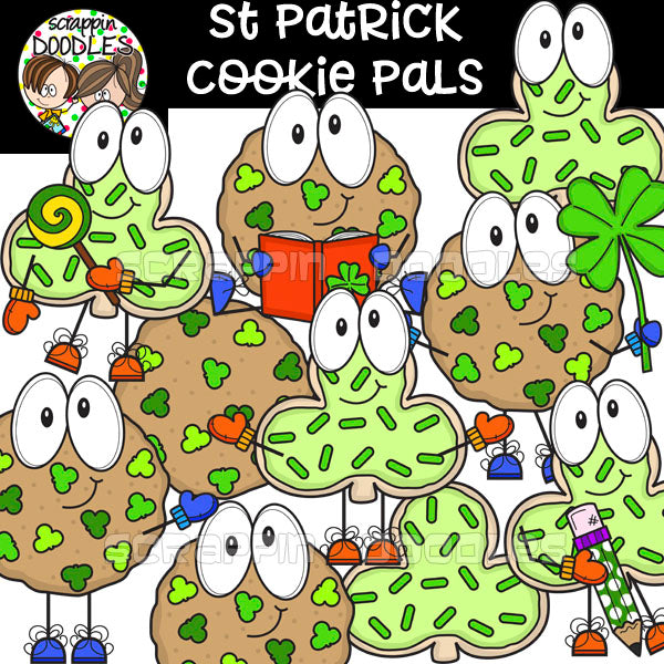 St. Patrick Cookie Pals
