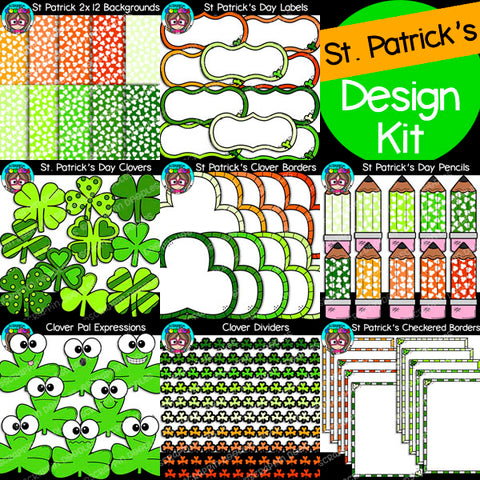 St. Patrick's Day Designers Kit {$16 Value}