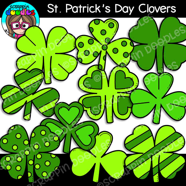 St Patrick's Day Clovers