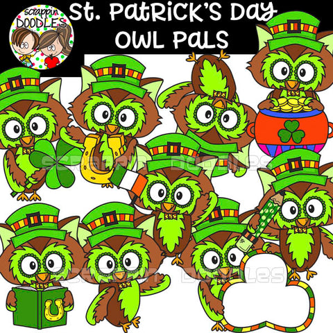 St. Patrick's Day Owl Pals