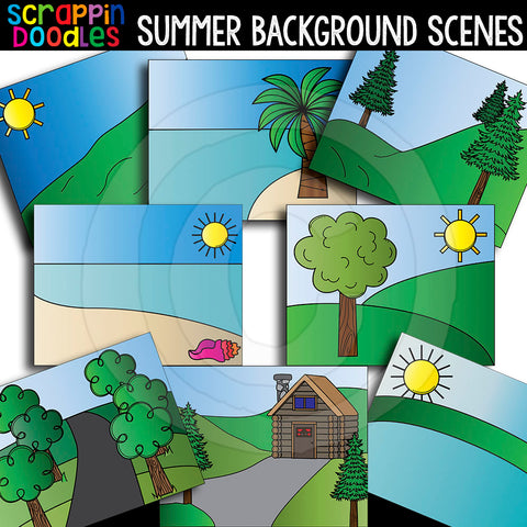 Summer Background Scenes