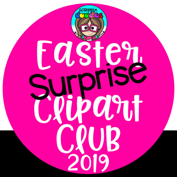 Easter Surprise Clip Art Club 2019